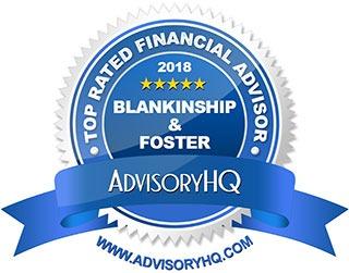 Blankinship & Foster AdvisoryHQ Award 2018 Logo