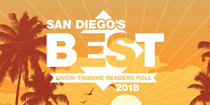 San Diego's Best Readers Poll graphic