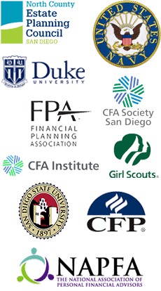 accreditation logos for Rick Brooks