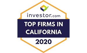 Top Investor Firms in California graphic
