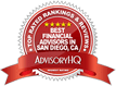 AdvisoryHQ - Best Financial Advisors in San Diego, CA