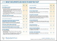 BF-What Documents Do I Need to Keep on File 2019-v1 form